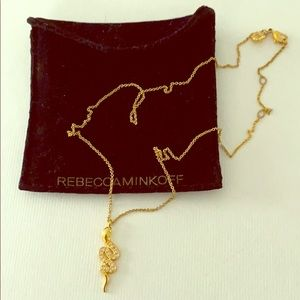 Rebecca Minkoff Snake Necklace